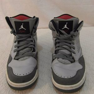 Nike Air Jordan Flight Gray Black 10.5 33503